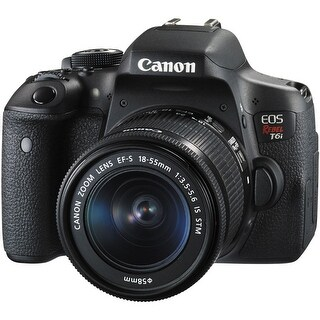 Canon EOS Rebel T6i DSLR Camera with 18-55mm Lens (International Model)
