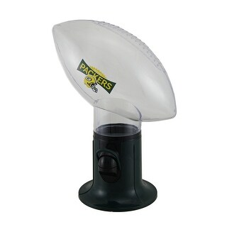 NFL Green Bay Packers Officially Licensed Football Shaped Candy Dispenser - DARK GREEN