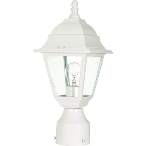 Nuvo Lighting 60/546 Single Light Up Lighting Outdoor Post Light from the Briton Collection
