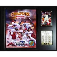 C & I Collectables  MLB Red Sox 2004 World Series Champions Plaque