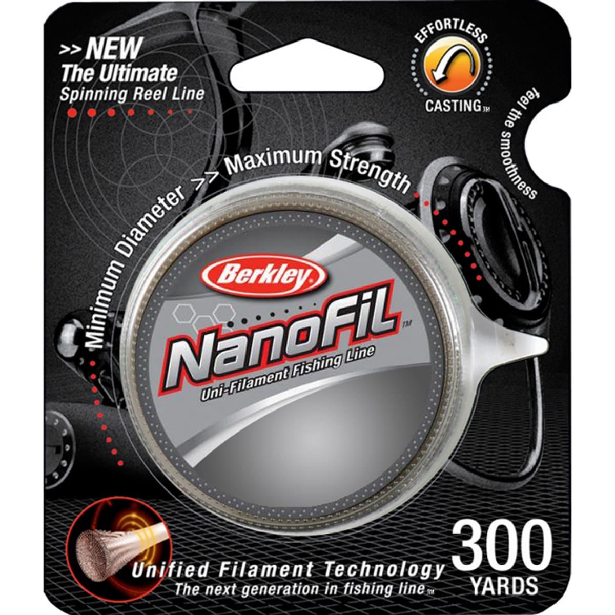 Berkley NanoFil Uni-Filament Fishing Line 300 Yard