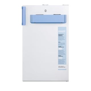 Summit FF511LBIMED2ADA Accucold MED2 19 Inch Wide 4.1 Cu. Ft. Free Standing Medi