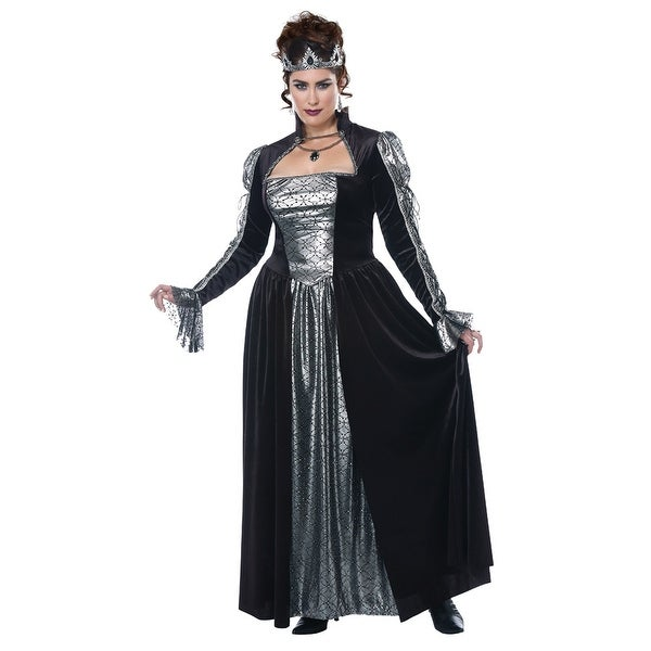 1c3edde205 Womens Plus Size Dark Majesty Queen Costume