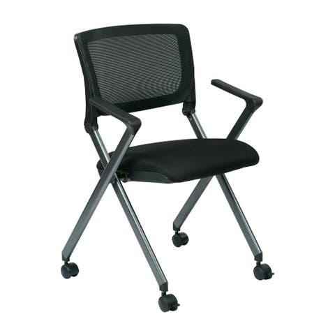 Folding Chair with Mesh Back