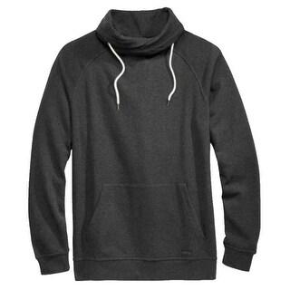 Univibe NEW Heather Black Mens Size 2XL Funnel Neck Fleece Sweater
