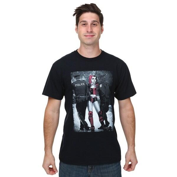 Harley Quinn Arrest Mens T-Shirt