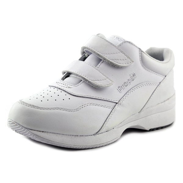 Propet Tour Walker Strap White Walking Shoes