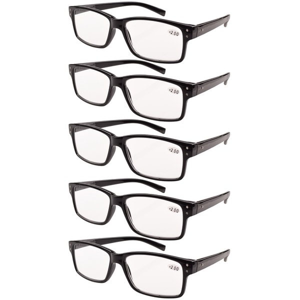 Eyekepper Reading Glasses 5-Pack Vintage Readers. Opens flyout.