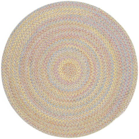 Rhody Rug Playful Indoor/Outdoor Braided Rug