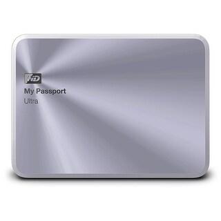 Western Digital My Passport Ultra 1TB USB 2.0/3.0, Silver - 0.53 x 3.1 x 4.3