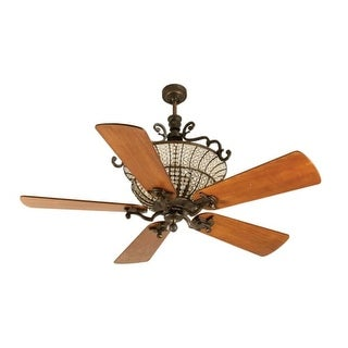 """Craftmade K10880 Cortana 54"""" 5 Blade DC Indoor Ceiling Fan - Blades and Remote Included"""