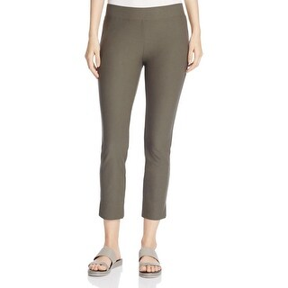 Eileen Fisher Womens Petites Cropped Pants Cropped Slim Fitting - pp
