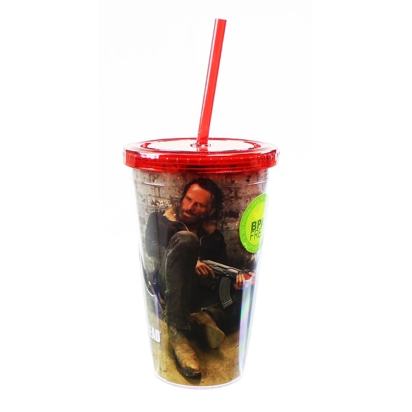 The Walking Dead Rick Grimes 16oz Carnival Cup - Multi