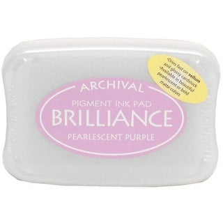 Brilliance Craft Ink Pad Large Pearl Purple