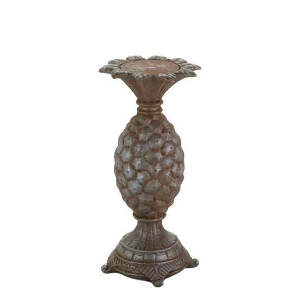 Ancient Small Pineapple Candle Holder