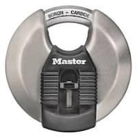 """Master Lock M50XKADCCSEN Magnum Disc Padlock, 3-1/8"""""""