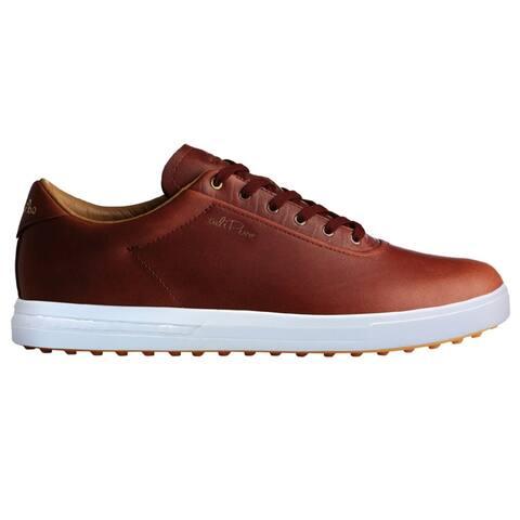 Men's Adidas Adipure SP Tan/Tan/White Golf Shoes F33593