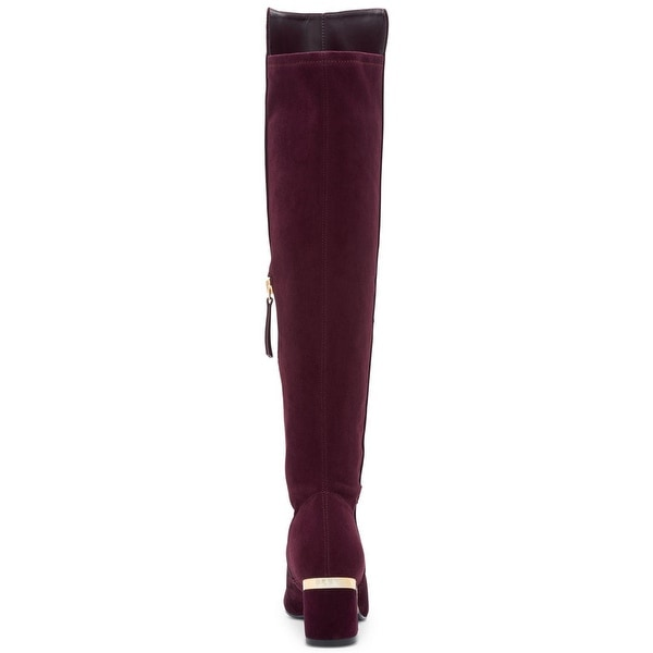 1d1aec738f9 Shop DKNY Womens Cora Leather Closed Toe Knee High Fashion Boots ...