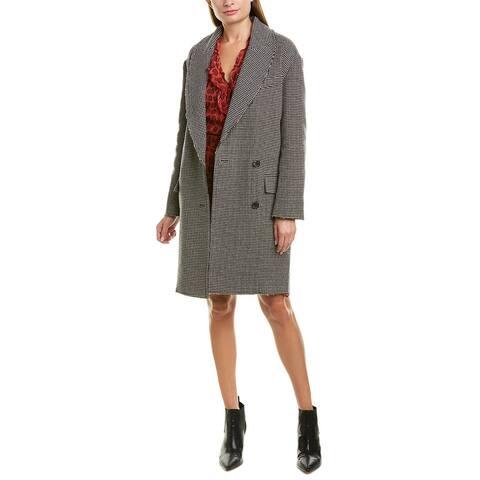 Iro Quip Wool Coat
