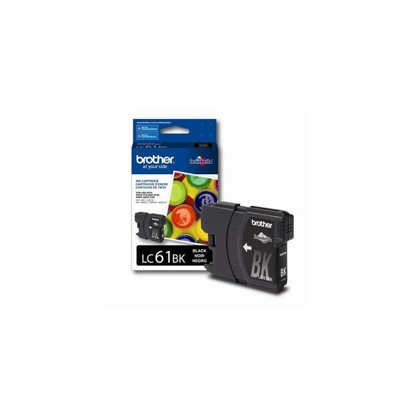 brother Q77122B Brother LC61BK Ink Cartridge, 500 Page-Yield, Black