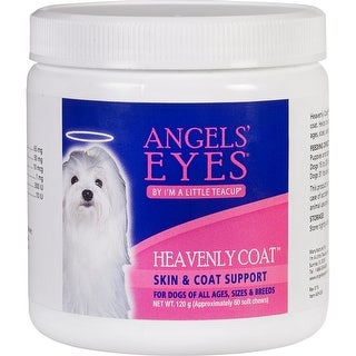 - Angels' Eyes Heavenly Coat Soft Chews For Dogs & Cats 60Ct