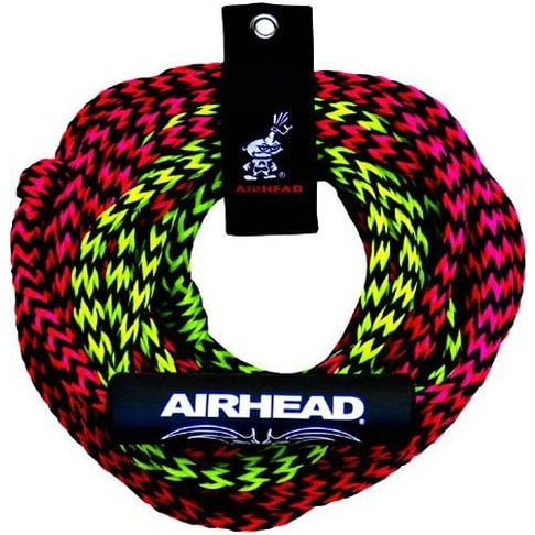 """Airhead 60 Feet Long 2 Rider 2 Section Rope 2 Rider 2 Section Tube Rope"""