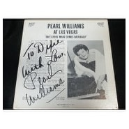 Signed Williams Pearl At Las Vegas At Las Vegas on the back of the Album autographed