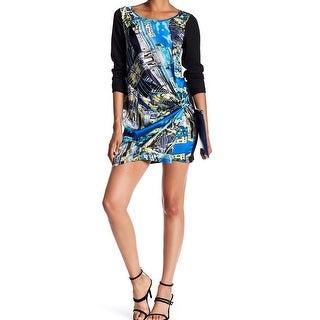 Papillon Womens Large Twist Knot Front Sheath Dress