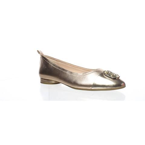 Taryn Rose Womens Penelope Rose Gold Ballet Flats Size 5
