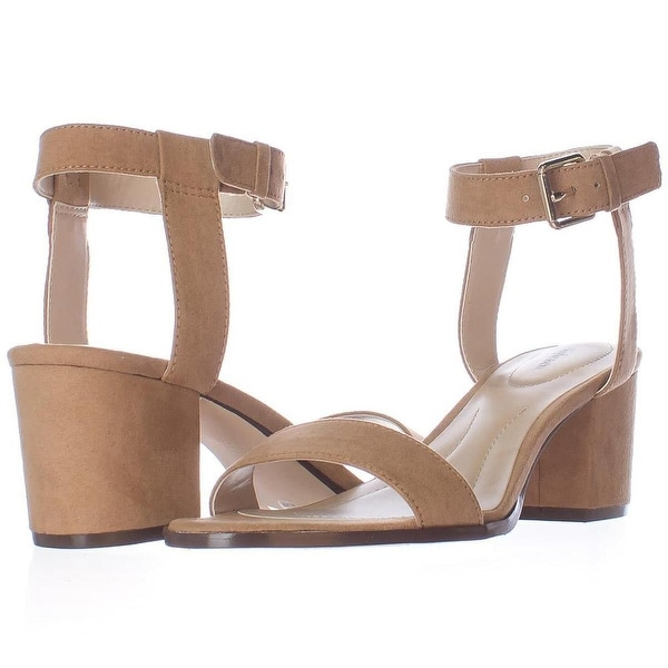 Style & Co. Womens Mullane Open Toe Casual Ankle Strap Sandals