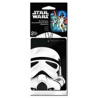 Star Wars Stormtrooper Car Air Freshener 2-Pack (Vanilla Scent)