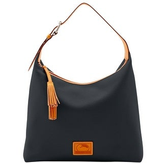 Dooney & Bourke Patterson Leather Large Paige Sac (Introduced by Dooney & Bourke at $298 in Dec 2016) - Black