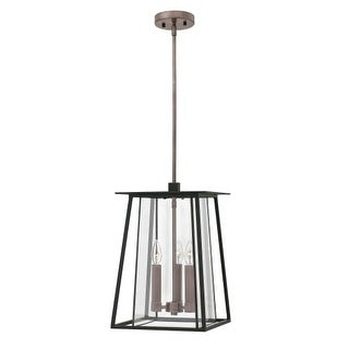 """Hinkley Lighting 2102 Walker 3 Light 11-1/2"""" Wide Outdoor Pendant with Clear Glass Shade (2 options available)"""
