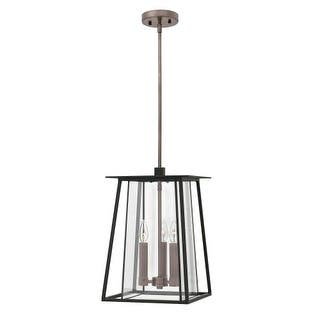 Hinkley lighting other outdoor lighting for less overstock hinkley lighting 2102 walker 3 light 11 12 wide outdoor pendant with aloadofball Image collections