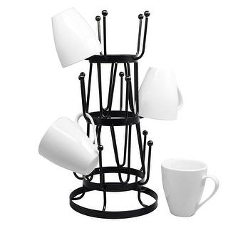 Link to Steel Mug Tree Holder Organizer Rack Stand (Black) Similar Items in Kitchen Storage