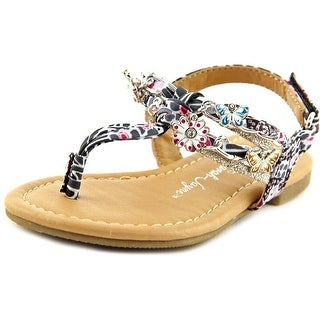 Sarah Jayne Shore Open Toe Thong Sandal