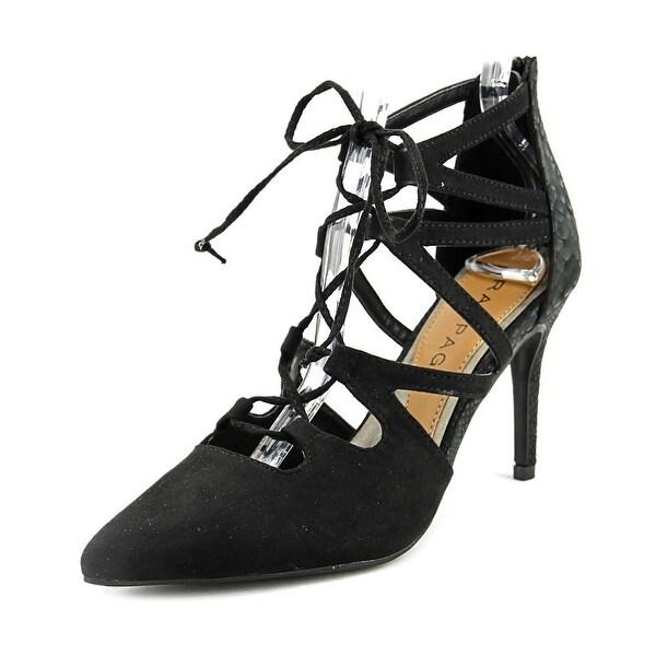 Rampage Sleepless Women Pointed Toe Synthetic Black Heels