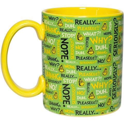 Dr. Seuss The Grinch Expressions 14oz Mug