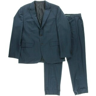 BOSS Hugo Boss Mens Wool 2PC Two-Button Suit - 38R