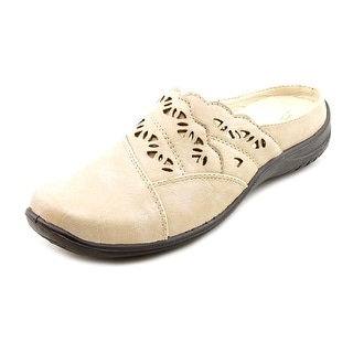 Easy Street Forever Round Toe Synthetic Mules