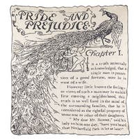 "Green 3 Jane Austen Pride and Prejudice Throw Blanket - 58"" x 60"" Eco-Friendly Yarn & Dye - 58 in. x 60 in."