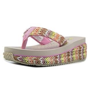 Volatile Bernice Youth Open Toe Canvas Flip Flop Sandal|https://ak1.ostkcdn.com/images/products/is/images/direct/3831291985c36674051c15d0a7375dc88348c37a/Volatile-Bernice-Toddler-Open-Toe-Canvas-Multi-Color-Flip-Flop-Sandal.jpg?impolicy=medium