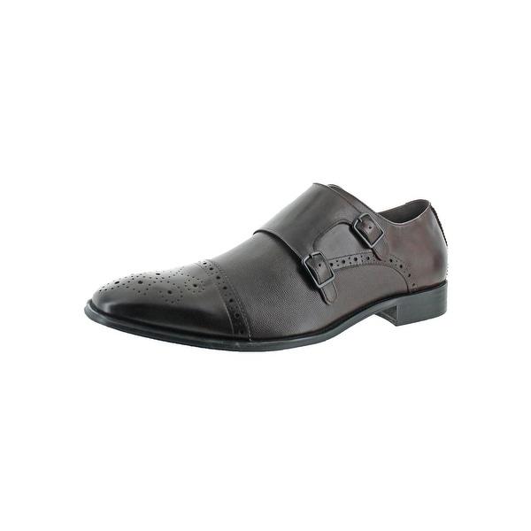 Kenneth Cole Reaction Mens DESIGN211174 Monk Shoes Double Strap Dress - 13 medium (d)