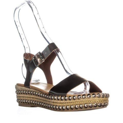 André Assous Womens Vergie Fabric Open Toe Special Occasion Espadrille Sandals