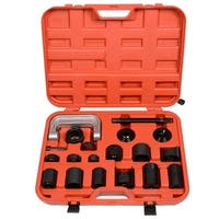 Super buy 21PCS Ball Joint Tool Auto Repair Service Remover Installing Master Adapter Car