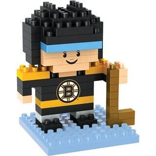 Boston Bruins 3D NFL BRXLZ Bricks Puzzle Player