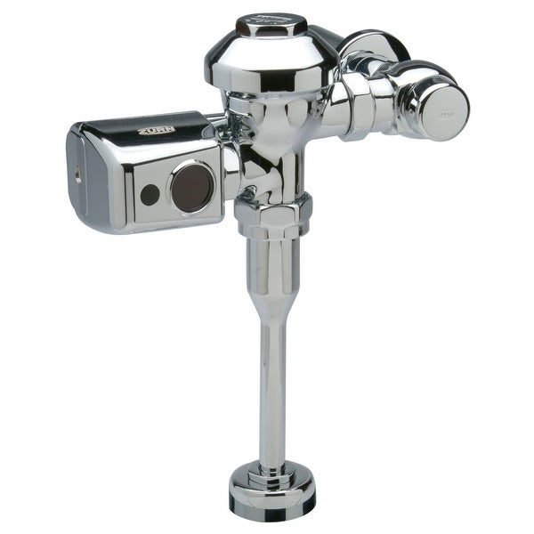 """Zurn ZER6003PL-WS1-CP AquaSense 1.0 GPF Sensor Operated Battery Powered Flush Valve for 3/4"""" Urinals with Plastic Cover"""