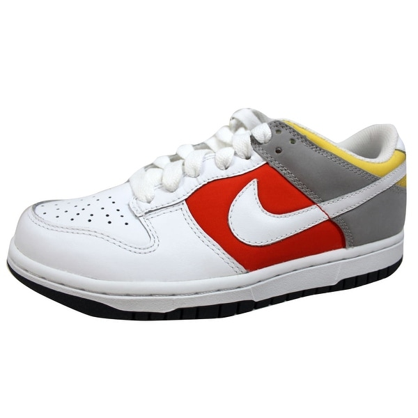 Nike Women's Dunk Low White/White-Engine 1-Medium Grey 317813-113