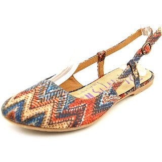 Blowfish Rumiko Women Round Toe Canvas Flats