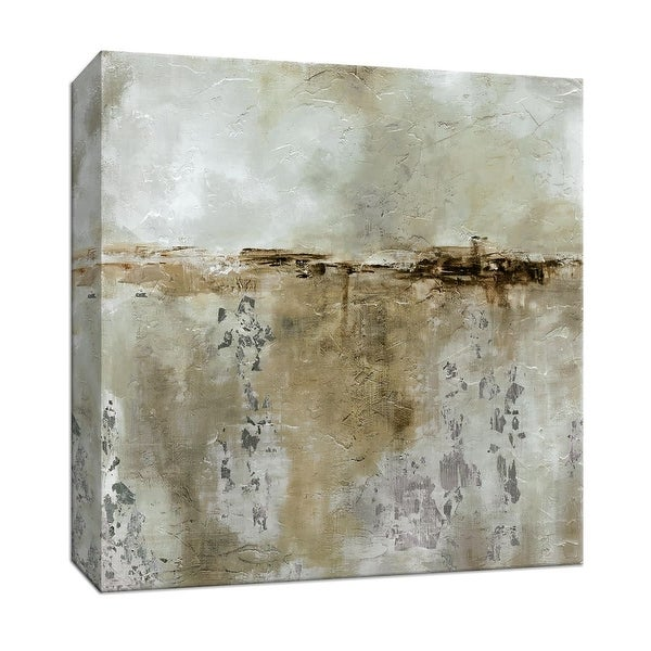 """PTM Images 9-146796 PTM Canvas Collection 12"""" x 12"""" - """"Misty Dawn"""" Giclee Abstract Art Print on Canvas"""